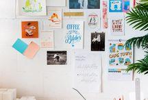 workspace / gallerywall