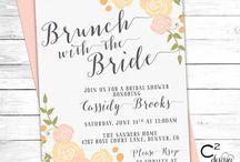 Invitación de brunch / Si estás organizando un brunch y quieres preparar unas invitaciones, aquí encontrarás mucha inspiración para que tus invitaciones sean originales y sorprendan a tus invitados.