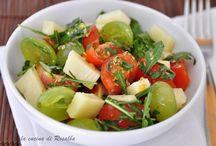salada, con uva