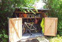 Fahrradschuppen