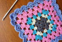 cojines y mantas a crochet