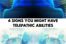 telepathic powers