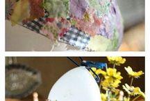 oggetti con materiali di riciclo