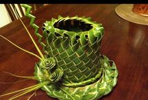 Palm Leave weaving art