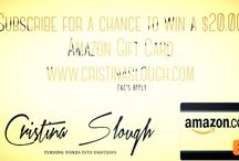 Giveaways / Giveaways from Cristina Slough