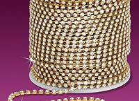 Wholesale Rhinestone Chain by GlamourGoddessJewelry.com / Rhinestone Chain and Trim at Wholesale Pricing. Decorating costumes, clothing, crafts
