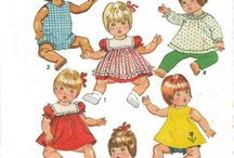 """Sewing 13"""" Doll Clothes Patterns"""