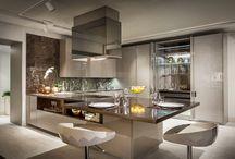 Cor Fendi na decoração da cozinha - tendência!