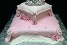 Girly Cakes-Girls just want to have FUN! / Sugar and spice and everything nice - that's what girls are made of...these designs are just for the girly-girls out there, the precious princesses that deserve something special. www.puffymuffin.com
