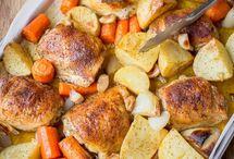 one pot chicken n potatoes