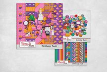 Birthday Bash / Birthday Bash by FranB Designs A collection of fun, themed minis to scrap your themed birthday parties - 9 themed minis, 2 paper packs, 1 Extra elements pack, 1 Alpha & Birthday Candle Number pack, 1 template set and several bundles to customize your birthday scrapping! http://www.scraps-n-pieces.com/store/index.php?main_page=advanced_search_result&search_in_description=1&keyword=franb+birthday+bash
