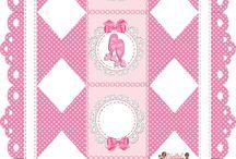 """Kit Digital Personalizados """"Bailarinas"""" / Kit Digital Aniversário"""