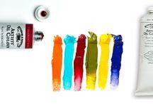 Colori per Artisti - Artists' Colours / Tutti i nostri migliori colori per artisti Winsor&Newton, Liquitex, Reeves, Conté a Paris, Faber Castell, Letraset, LeFranc&Bourgeois, Morocolor CMP Primo