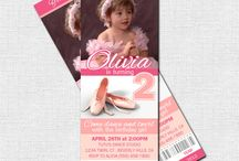 Isabella's 4th birthday / Ideas for Isabella's birthday theme - ballet or princess?