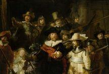 Rembrandt van Rijn. Blank journals / Blank journals. Cover images: paintings by the Dutch master artist Rembrandt van Rijn.