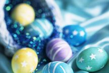 Decorating Easter Eggs / by Rosemary Hodo