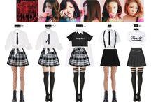 Kpop MV outfits