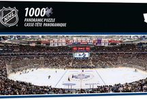 NHL Jigsaw Puzzles / NHL Hockey Teams Jigsaw Puzzles.  Explore our large selection of National Hockey League arenas puzzles that vary in size between 500 and 1000 pieces.  Perfect gift for a sport enthusiast.  www.games2puzzles.com