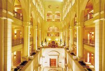 Johannesburg Hotels / This board gives the details of the most famous hotels of the Johannesburg City, South Africa.