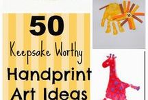 Handprint Art Ideas
