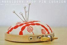 Create: HOOP-LA / Create a work of Art with Embroidery Hoops / by Paulie Jones