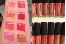 Make Up fav / Test et autres dispos sur www.wonder-brunette.com