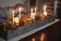 Thanksgiving Decorating Ideas / Inspiration for Centerpieces, Home Decor and more for Thanksgiving festivities