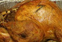 Poultry centered dinner
