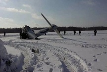 Airplane crash near Tumen