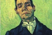 Vincent Van Gogh / Vincent Willem van Gogh  (Zundert, 30 marzo 1853 – Auvers-sur-Oise, 29 luglio 1890) è stato un pittore olandese. Autore di ben 864 tele e di più di mille disegni, senza contare i numerosi schizzi iniziati e non portati a termine più diversi appunti probabilmente destinati all'imitazione di disegni artistici di provenienza giapponese, tanto geniale quanto incompreso in vita, van Gogh influenzò profondamente l'arte del XX secolo