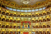 Opera Houses and Concert Halls / Like Opera? See also: https://www.pinterest.com/rokalily/fashionarchitecture-meet-in-a-night-at-the-opera/ Be sure to read the board's subtitle before you peruse. Enjoy! / by Mary Alyssa McNally