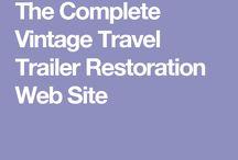 Vintage caravans restoration