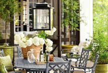 outdoor patio / by Genie Renaudin