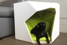 Dog Houses / A cozy place for the lovely dog
