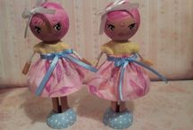 My Very Own Clothes Pin Dolls Creations
