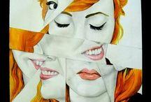 fragmented art