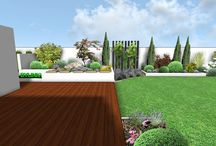 garden ideas / 3D garden ideas