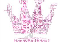 Fayth Prints / Hi,  This is my own business. I create word clouds based on customers preferences. The customer decides on the shape, theme and provide all the words that best describes the celebration.   Please have a look and like my Facebook page  Fayth at https:/www.facebook.com/FaythFairy