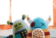 crochet monsters