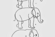 enseñar a dibujar