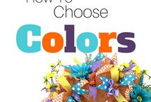 How to pick colors for your wreath.