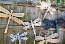 Recycle Reuse Fun: Fans / #ceiling fans #recycle #reuse creative ideas