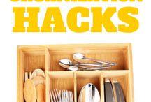 Organization tips and DIY