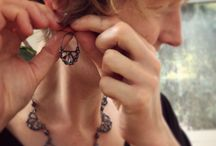 Catherine Grisez jewelry / Exquisitely feminine jewelry