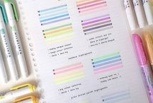 Bullet Journal/Planner Tips & Supplies / How to start a bullet journal or planner, inspiration, printables, ideas, college school tips, oragnization, cute washi tape, best products, cheap budget, stickers, sticky notes, beginner, and organizers, erin condren, setup layout, academic, pens,