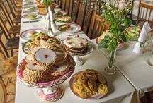 Downton Abbey 75th Birthday Party / ideas for my Birthday party