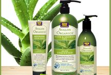Hair, Body, Personal Care Products / Wide range of AVALON ORGANICS products made with ORGANIC INGREDIENTS, including Botanical Extract & Essential Oil