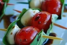 Tomato, basil, mozarella / Appetizer