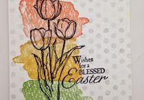 Karten mit Blumen