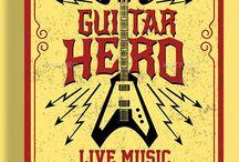 Hero of a Guitar Flyer